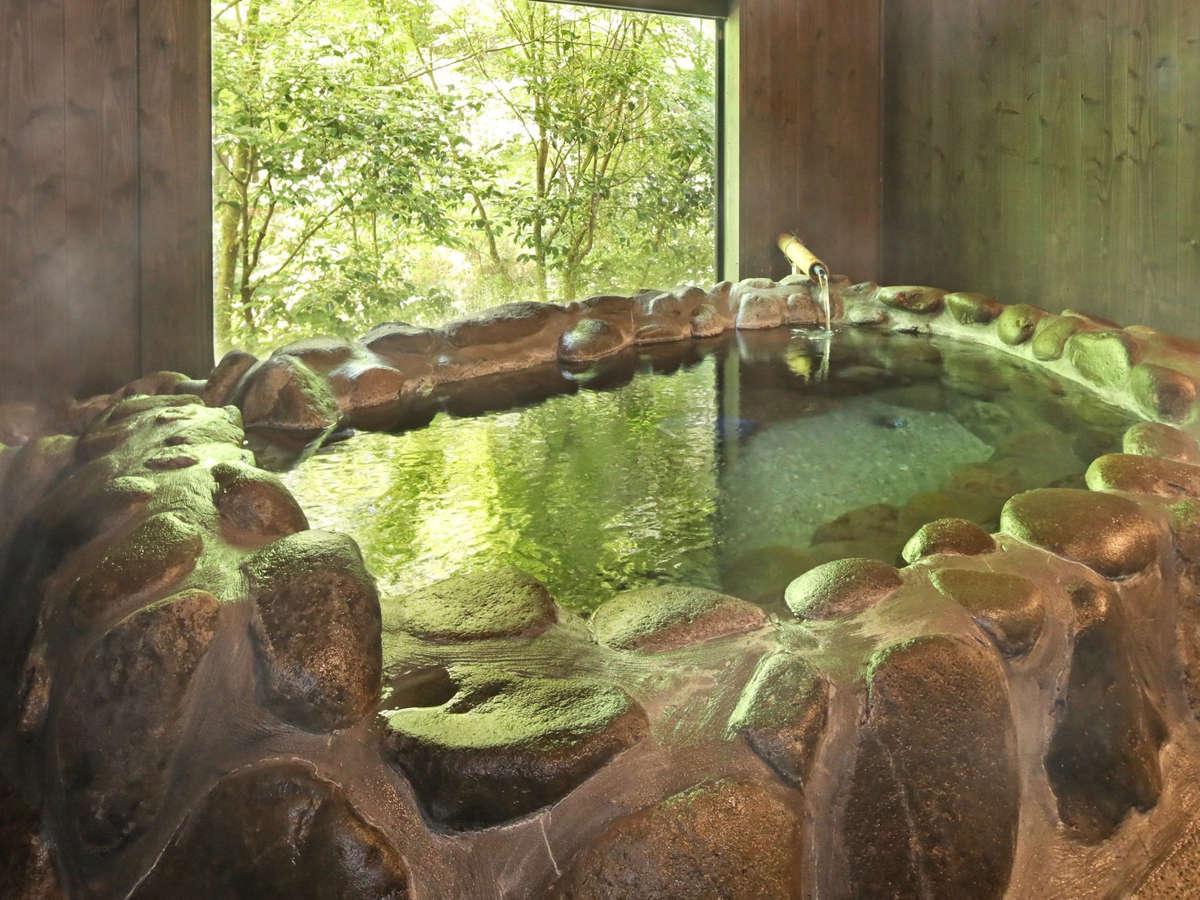 家族風呂は3つ。家族風呂+岩盤浴の浴室が2つ宿泊客様→岩盤浴(500円)