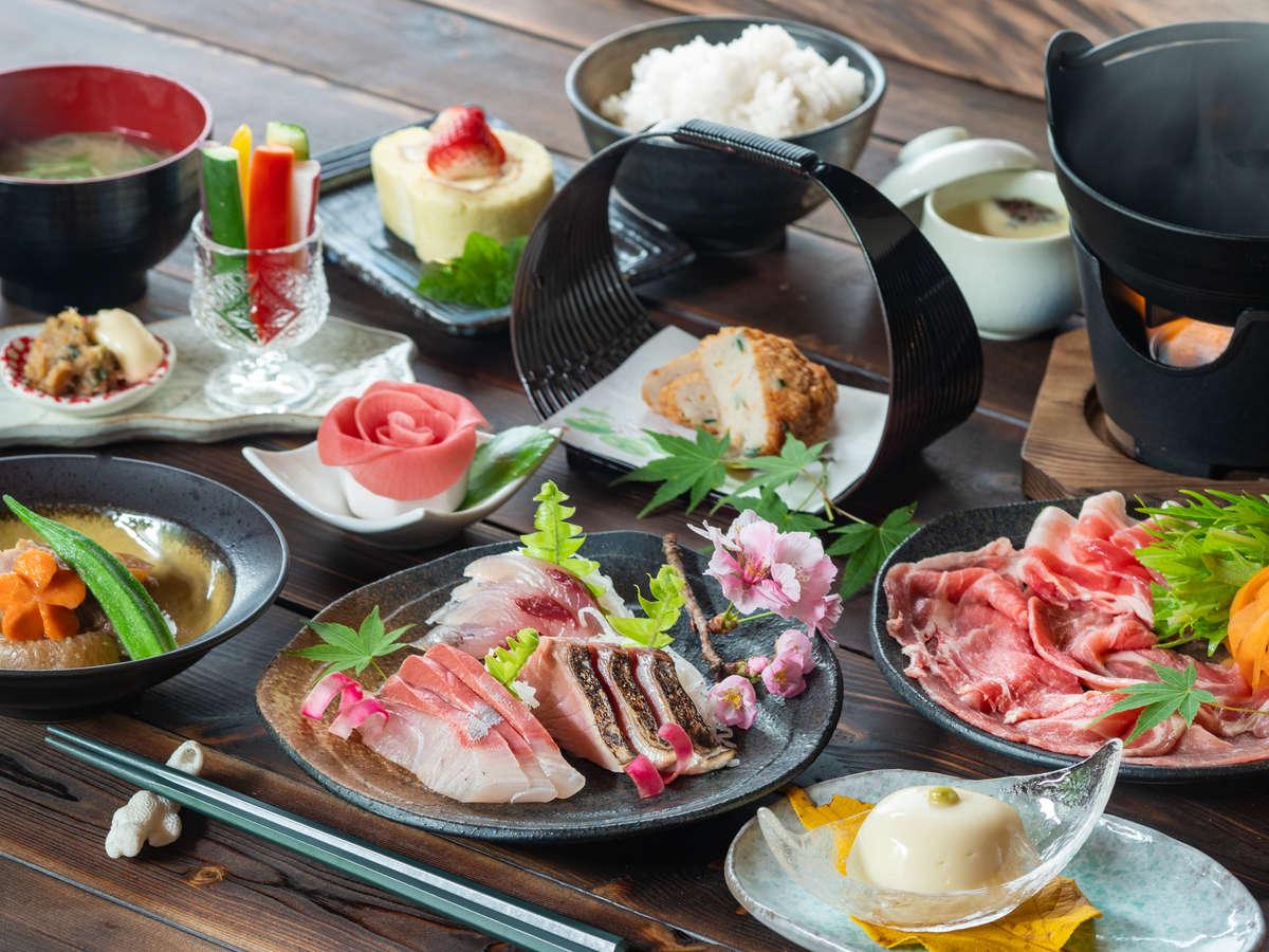 【nicoichi会席】鹿児島・屋久島料理をより満喫できる、グルメ派に人気の会席プランです。
