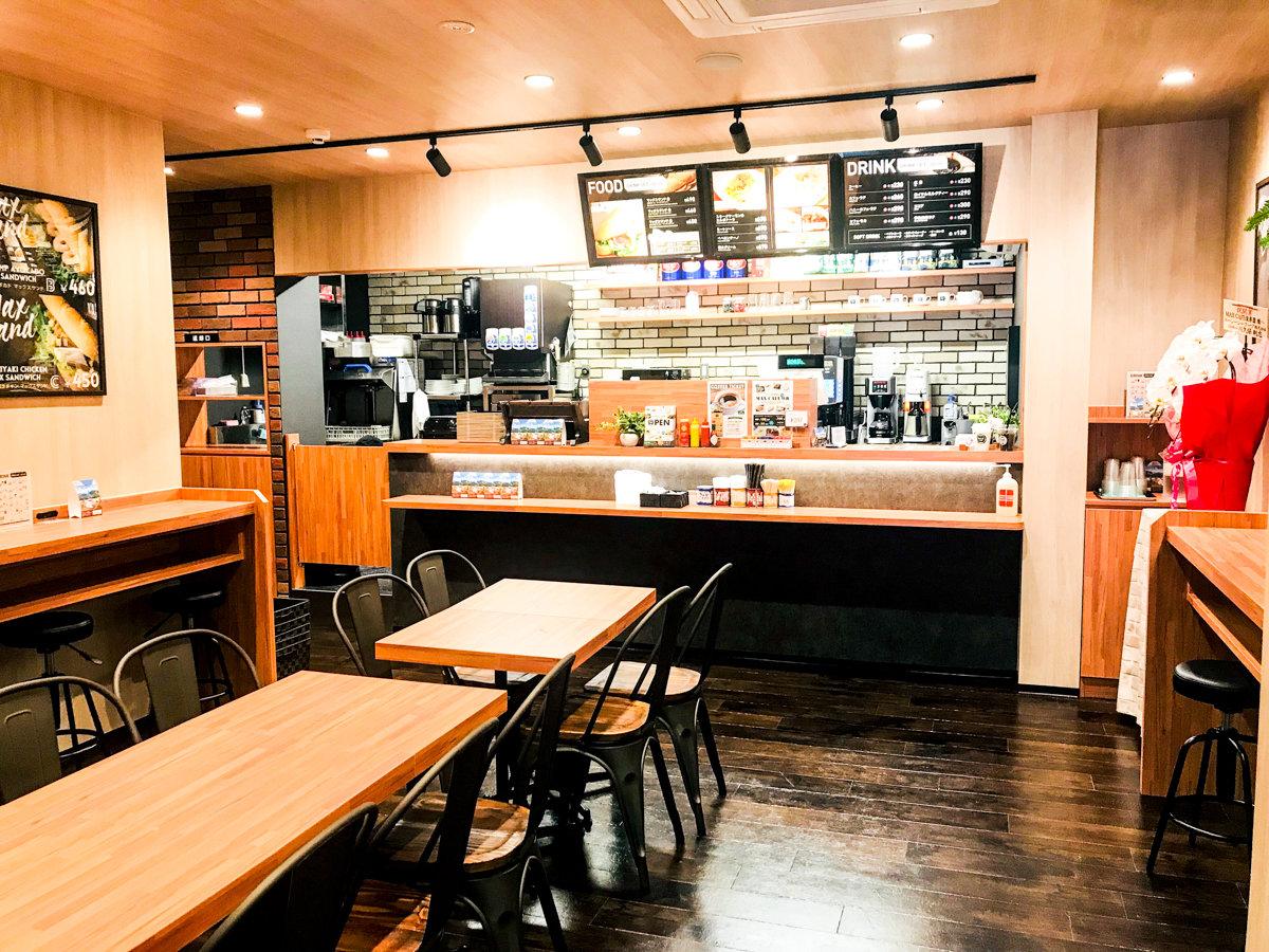 ◆MAX CAFE◆おいしいコーヒーと軽食でおくつろぎ下さい。