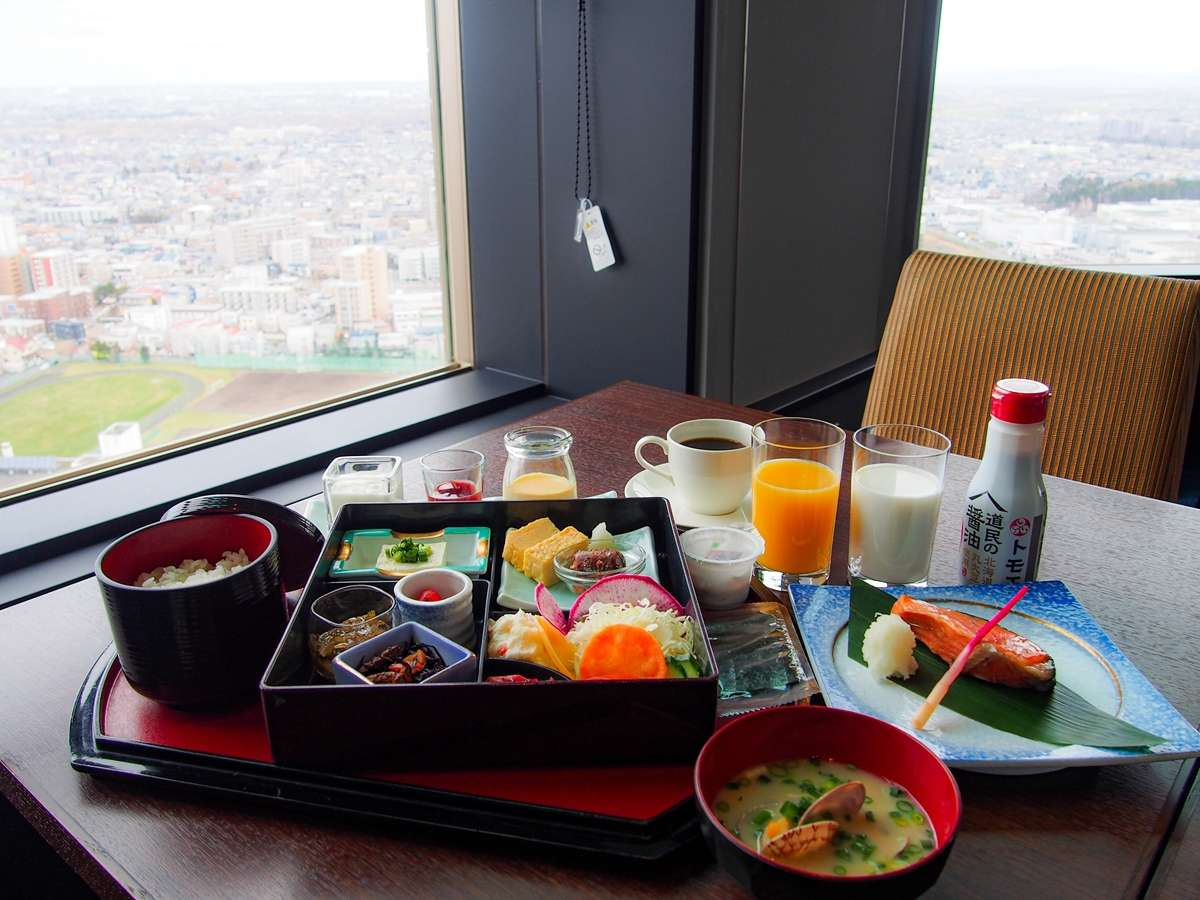 朝食セットイメージ ~ 31F Sky Restaurant Hareus