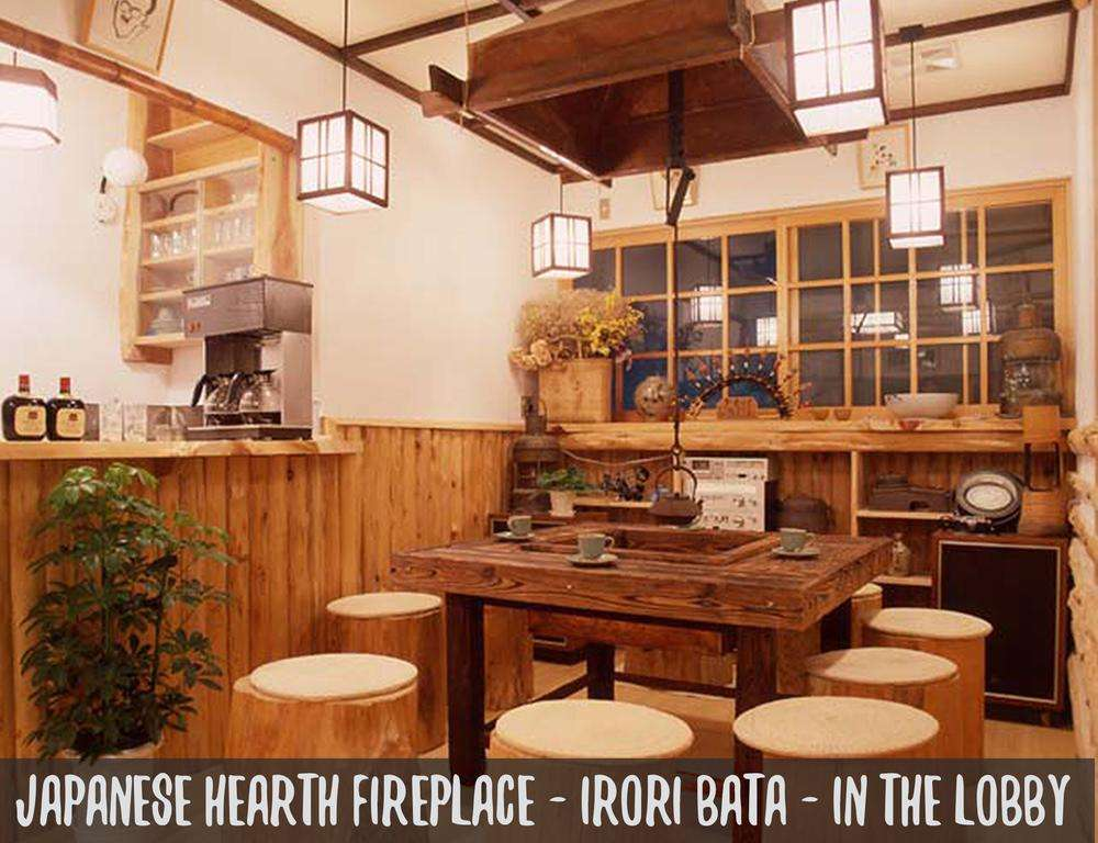 JAPANESE HEARTH FIRE PLACE IRORI - IN THE LOBBY