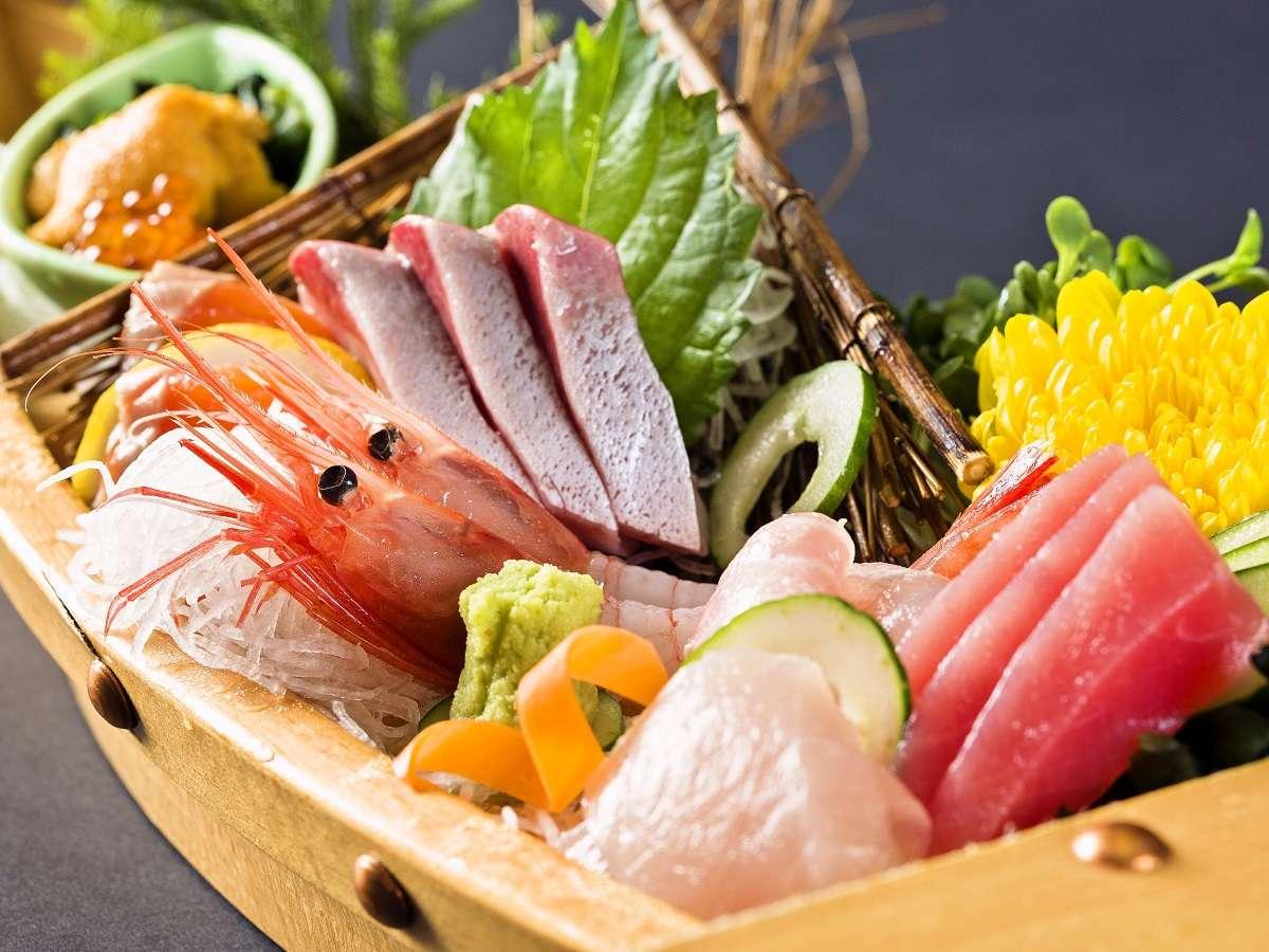【料理一例】舟盛り