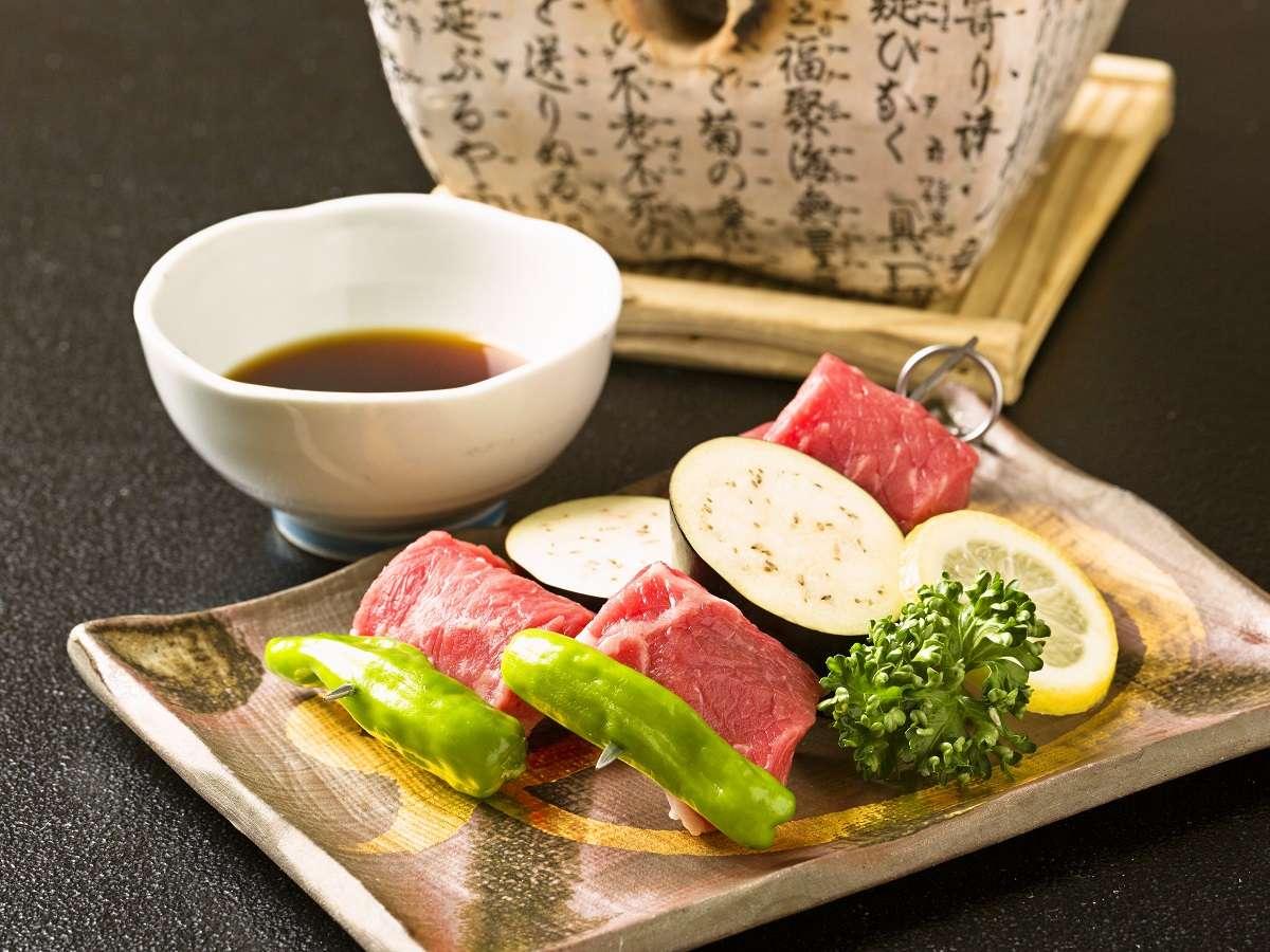 【料理一例】鉄板焼き