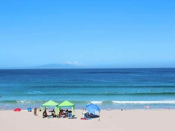 最高に綺麗な白浜ビーチまで歩いて8分♪♪透明度抜群の海・白い砂浜・青い空に是非つつまれて下さい!