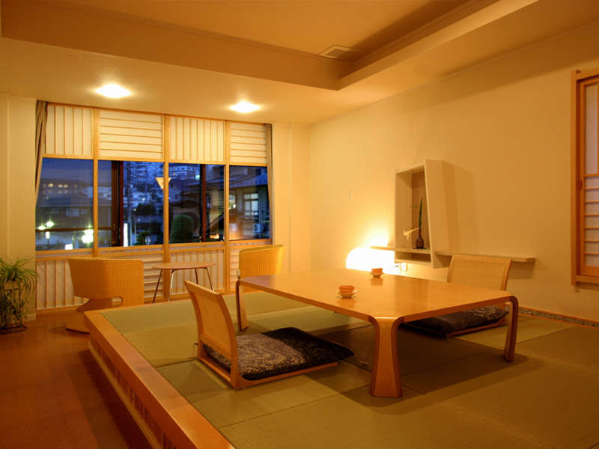 露天風呂付き客室【星】