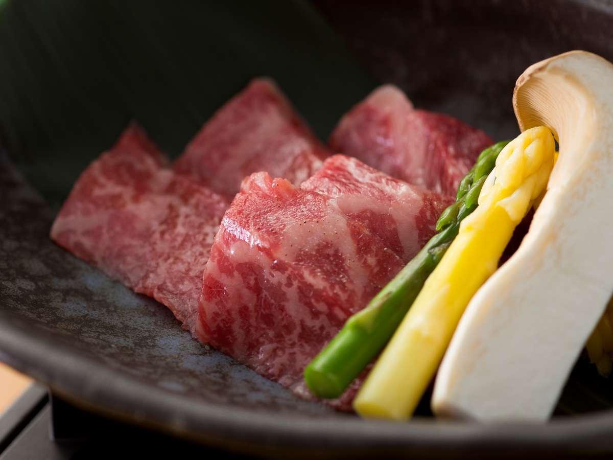 神戸牛料理一例