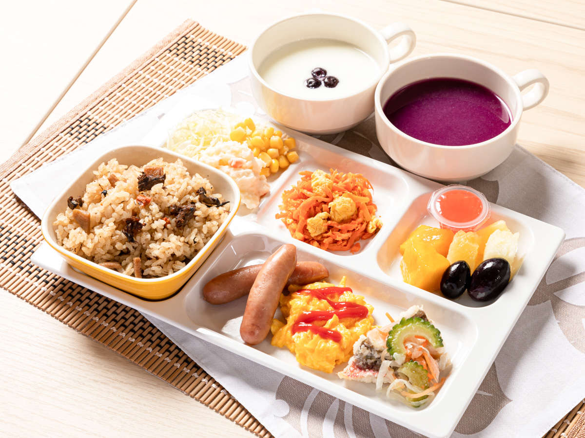 【朝食サービス※イメージ】1日のスタートは彩り豊かで明るい朝食から始めましょう。