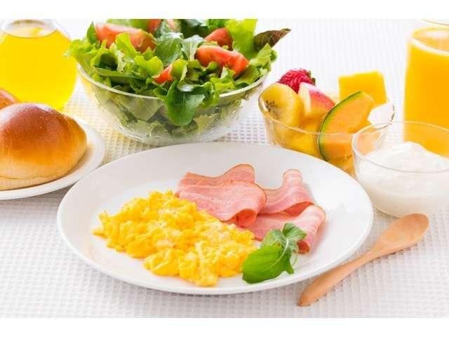 朝食・豊富なメニューで1日のスタートをぜひ♪