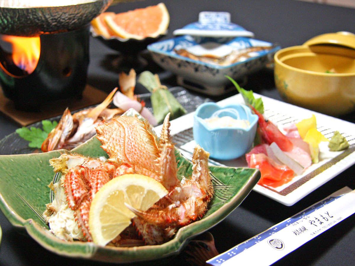 ※■夕食(一例)■せっかく能登まで旅行に来たなら、美味しいものをたーくさん食べて帰って下さいね♪