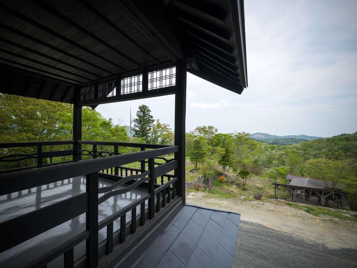 2018年開業。【星月】宮城の日本百景の景色を一望。朝に朝日、昼に広がる景色、夜に星月。