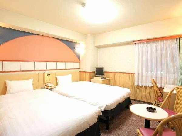 洋室ツインルーム(14~17平米)☆(^_^)