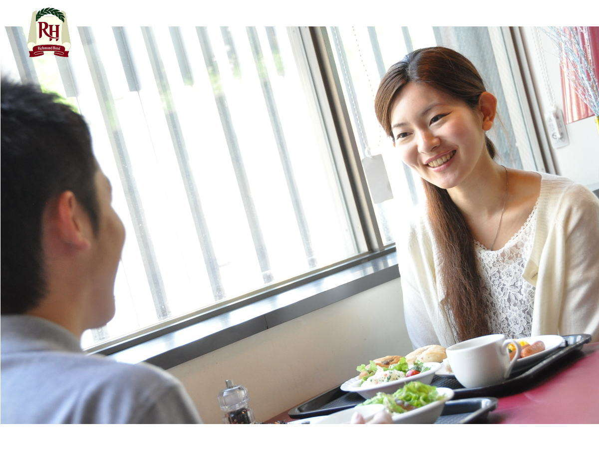朝からおいしいご飯で元気に出発♪朝食バイキングは6時15分から10時(最終受付9時45分)