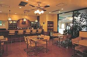 みどりヶ丘温泉サウナビジネスホテル:食堂喫茶ヘルシー館 憩いと語らいに心と味のおもてなし