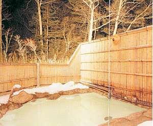 旅館 白根荘:美しい夜空を眺めており姫・ひこ星の湯