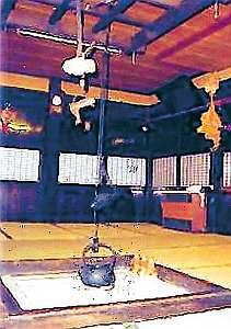 囲炉裏の宿 民宿 東屋