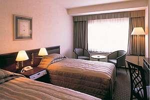 鹿島セントラルホテル:新館ツインルーム