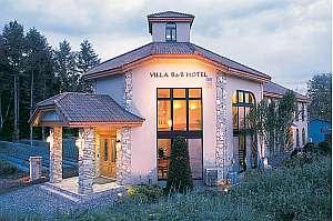 ヴィラB&Bホテル:お洒落で小粋なヨーロピアンタイプのホテル