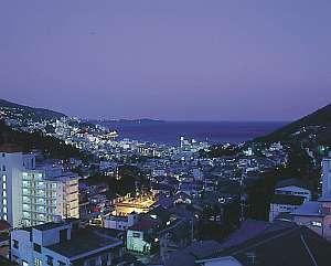 熱海の奥座敷山の上ホテル