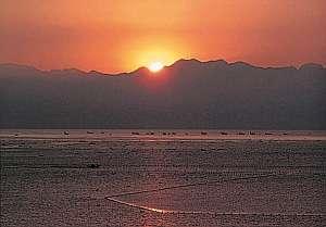 いさりびの湯 民宿灘浦荘:美しい朝日と氷見の海が目の前の絶景の宿