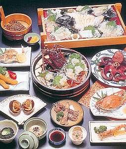民宿なぎさ:料理の一例