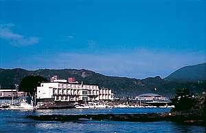 海のホテル一の滝の写真