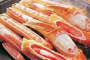 香住 カニ料理が自慢の漁師宿 双葉荘:身がふっくらアツアツの焼きガニ