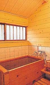 川根温泉ふれあいコテージ:コテージひのき風呂