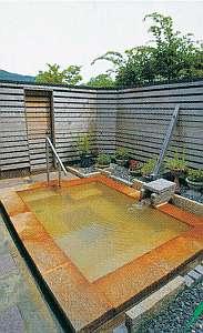 川根温泉ふれあいコテージ:6人棟『江松』露天風呂