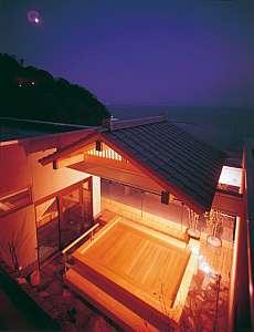 西浦グランドホテル 吉慶:温泉「美白泉」の最上階展望露天風呂