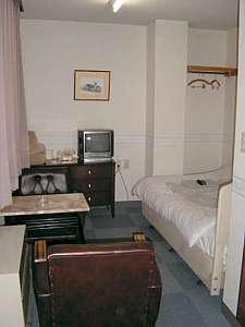 酒田ステーションホテル:シングル客室一例