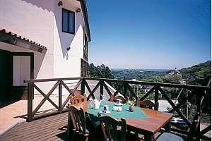 ペンション ア・ドマーニ:レストランテラスからの眺め
