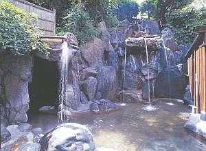 夢の国星の国みるき~すぱサンビレッヂ:洞窟風呂や蒸し風呂、うたせ湯等が楽しめる