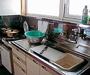 ロッジ タンデム:調理道具はだいたいそろっております。足りないものはお貸しします。