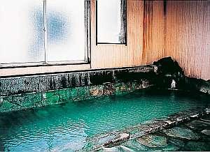 ゆ宿  大蔵:ざぶざぶ温泉が掛け流しされているお風呂