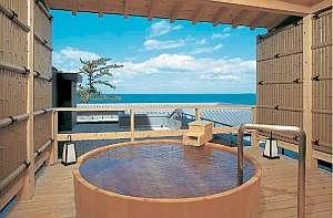 夫婦岩前 大石屋:潮風が心地イイ露天風呂