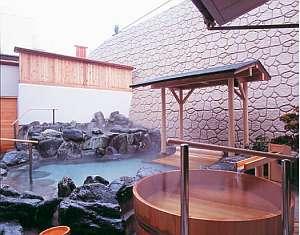 龍の湯:サウナと寝湯付の露天風呂