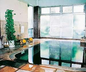 天恵の名湯 いさぜん旅館:大浴場はゆったりしていて気持ちいい