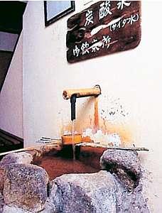 小坂の炭酸泉の宿 仙游館:炭酸泉は胃腸にやさしい