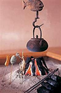 囲炉裏と温泉露天風呂 コッヘル磐梯の写真