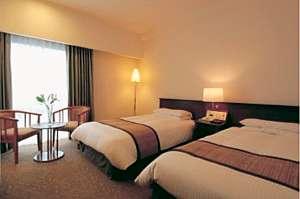 ホテル テラス ザ スクエア日立:ツインルーム   23㎡ くつろぎの空間
