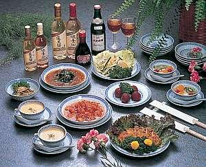 グルメペンション伊豆パシーフィック:中華料理コースで味・量保証!!別注お刺身舟盛有り要予約