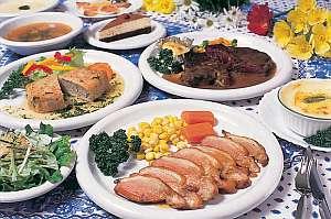 味とボリュームに評判のメインディッシュの各種