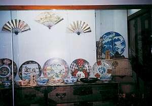 金沢屋旅館:伊万里の絵皿