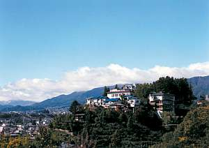 天空の城 三宜亭本館