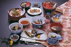 菅平高原温泉ホテル :お料理の一例