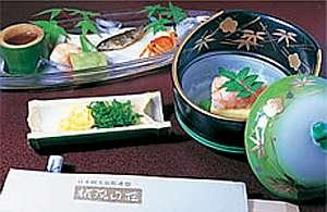 権現山荘:料理例