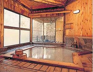 山のホテル:別館浴室