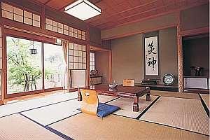 料理旅館 樹香苑:敷地2000坪にわずか5室の客室例。