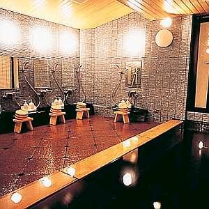 住庄ほてる:大浴場。夜24時までゆったりと