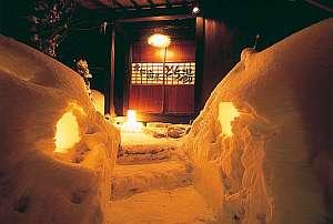 御宿 飛水(ひすい):雪見を楽しみながら、贅沢湯めぐり
